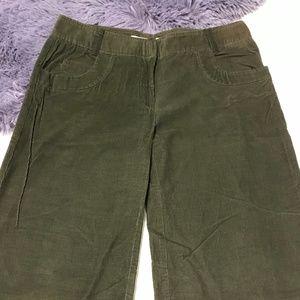 "BCBG Brown Corduroy Pants - Size 6, I33"""